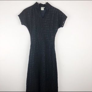 Shabby Apple Dresses - Shabby Apple Lace Lined Cocktail Dress Size M